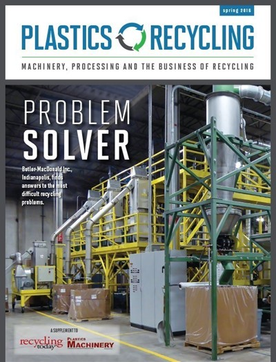 April 2016 Plastics Recycling Magazine