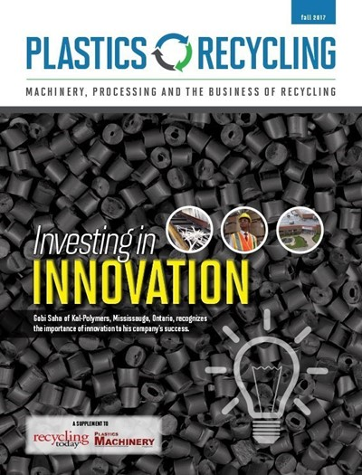 October 2017 Plastics Recycling