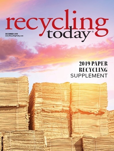 December 2019 Paper Recycling Supplement