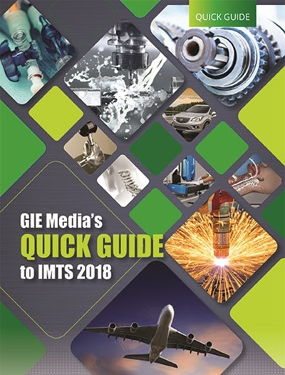 GIE Media Quick Guide to IMTS 2018