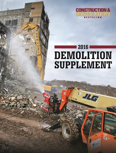 Demolition Supplement